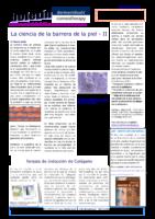 La Ciencia De La Barrera De La Piel – II